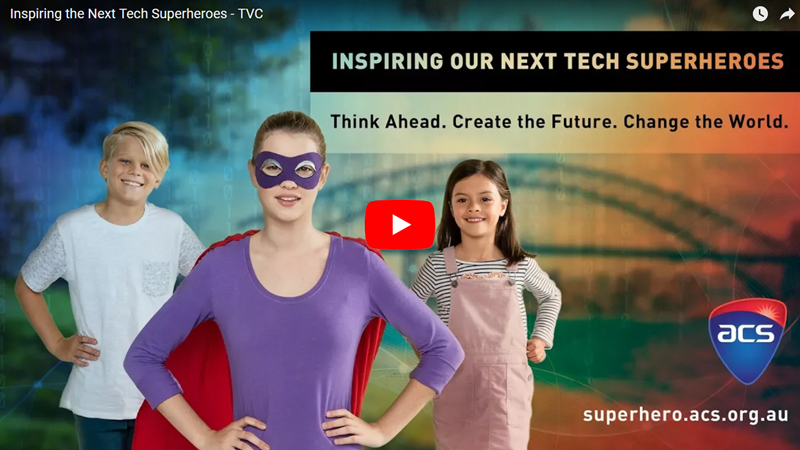 Inspiring our Next Tech Superheroes