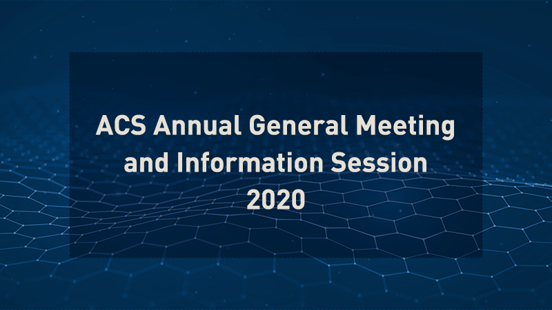 AGM 2020 Information