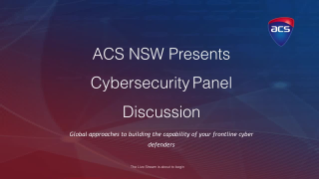 ACS Cyber Security Panel