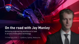 On the road with Jay Manley: Achieving engineering excellence to lead in an era of disruptive technology