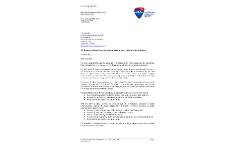 ACS Response to Federal Governments Consultation Paper on Digital Television Regulation - March 2015